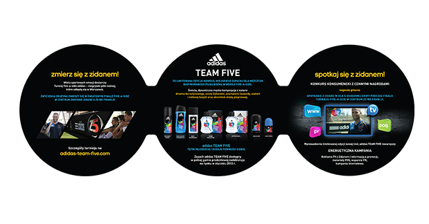 Adidas TEAM FIVE ULOTKA